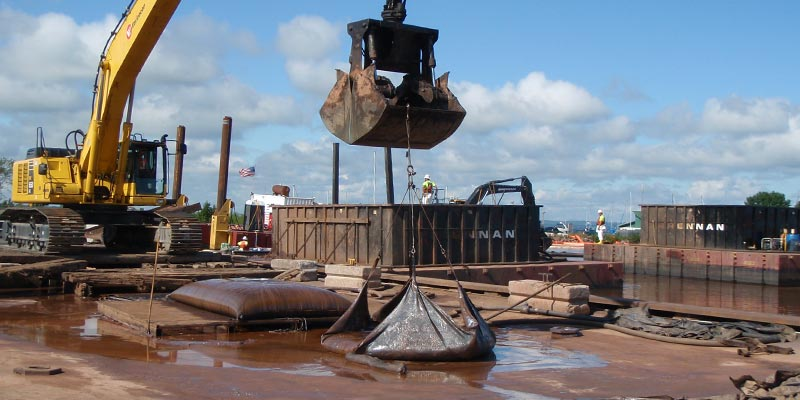 dewatering bags for silt