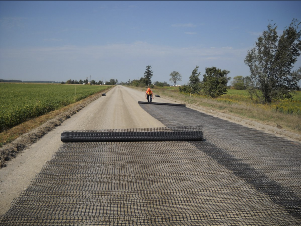 what is geogrid used for