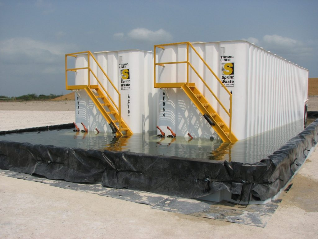 spill containment berms